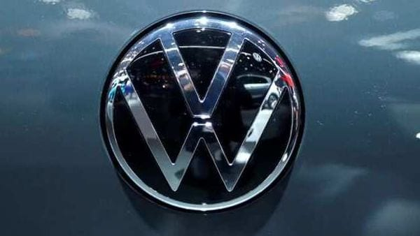 FILE PHOTO: The logo of German carmaker Volkswagen is seen on a new Golf car at Brussels Motor Show, Belgium, January 9, 2020. (REUTERS)