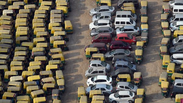 Auto drivers had urged Delhi government to open city roads for them. Now, they have urged the government to relax the one-person-only rule. (AFP)