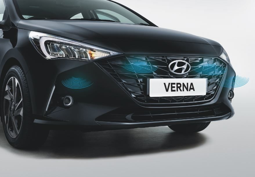 Verna Turbo also gets front parking sensors.