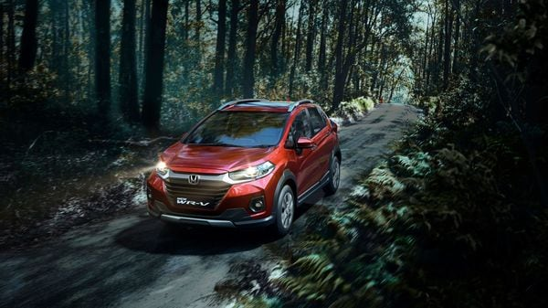 The facelifted WR-V from Honda.