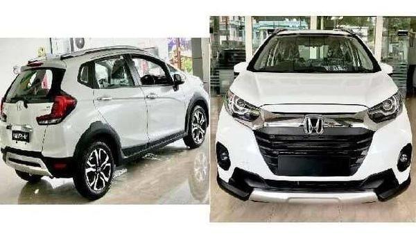 2020 Honda WR-V facelift. Image Credits: Aneesh Mohan/Facebook