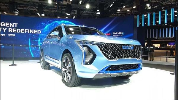 Concept H, a concept car presented by Chinese brand Great Wall Motors (GWM) at Auto Expo 2020 under its sub-brand Haval.