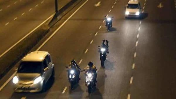 Illegal motorbike racing on public roads (Representational Image). Photo Credits: Reuters
