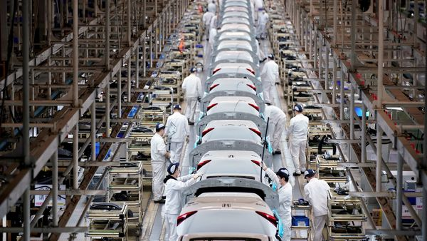 Honda Motor Co Ltd last Friday said it had begun a gradual return to operations in Mexico. (File photo used for representational purpose only). (REUTERS)