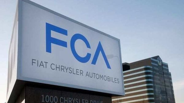 A new Fiat Chrysler Automobiles sign is pictured after being unveiled at Chrysler Group World Headquarters in Auburn Hills, Michigan. (REUTERS)