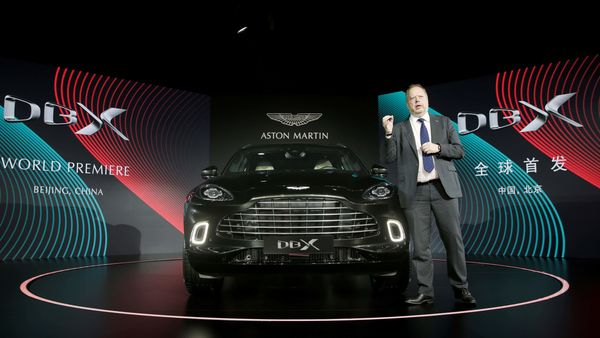 FILE PHOTO: CEO of Aston Martin Andy Palmer attends a global launch ceremony of its first sport utility vehicle Aston Martin DBX. (REUTERS)