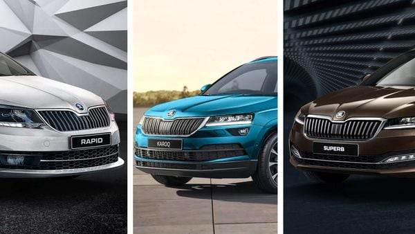 Skoda's latest three offerings in India - Rapid TSI, Karoq SUV and Superb FL.