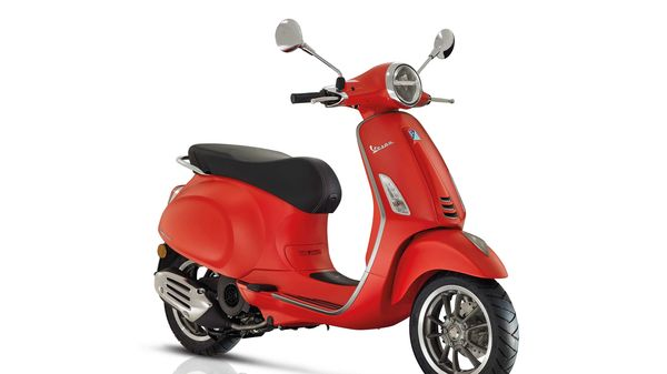 The Vespa Primavera is protected by the design registered by the Piaggio Group in 2013.