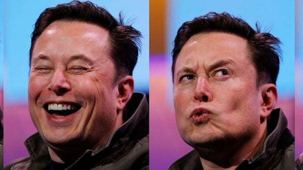 The many moods of Musk: File photo of Elon Musk. (REUTERS)