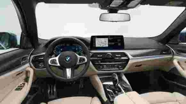 The interior of the new 5 Series sedan is also upgraded with two 12.3-inch screens working as the instrument cluster and the centre console, which has grown in dimension. Both come as standard in all variants.