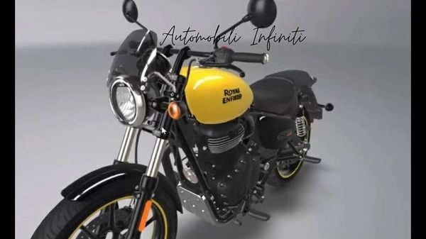 Royal Enfield Meteor 350 Fireball in bright yellow colour. Image credit: Instagram/Automobili.infiniti