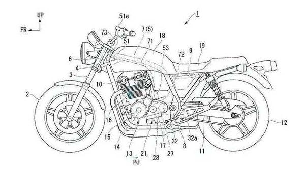 Honda's new semi-automatic gearbox using CB1100 as base bike. Image Courtesy: bennetts.co.uk/bikesocial/