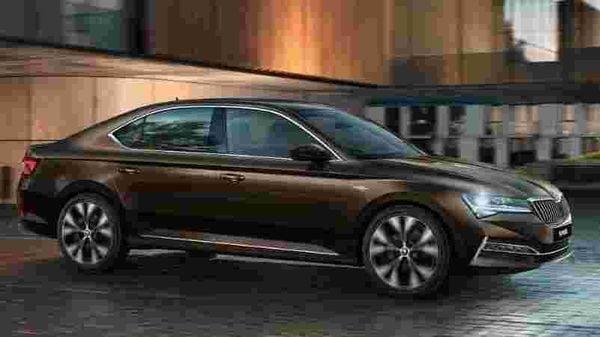 Skoda Superb facelift pictured. Image Courtesy: Skoda Auto.