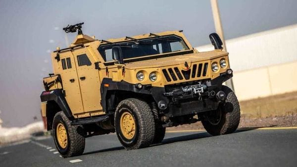 The Mahindra ALSV is a light armoured specialist vehicle built for use by military and defence forces. (Photo courtesy: mahindraarmored.com)