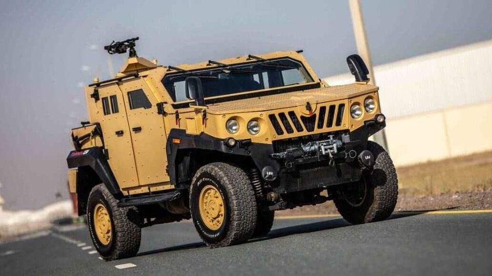 Why Anand Mahindra thinks this armoured vehicle is one of the meanest