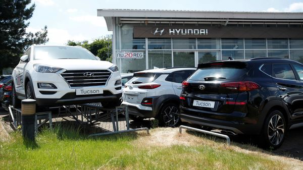 In India, Hyundai Motor announced it had sold 6,883 units in the domestic market in the month of May and that another 5,700 units had been exported in the same period. (REUTERS)
