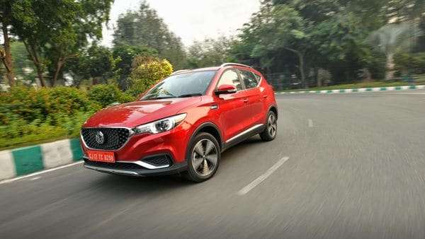 MG currently offers Hector SUV and ZS EV (in pic) in India.