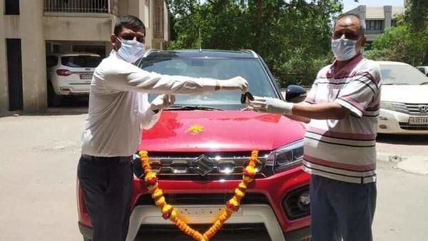 Customers have the option of getting their vehicles delivered at home with Maruti Suzuki urging people to make use of its digital channels.
