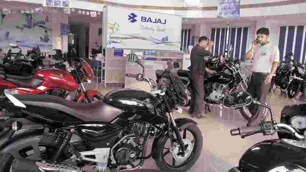 File photo: Bajaj Auto has said its total exports last month declined by 53 per cent to 87,054 units as compared to 1,83,411 units in same period of last year.
