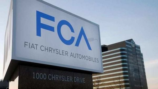 Representational File Photo: A new Fiat Chrysler Automobiles sign is pictured after being unveiled at Chrysler Group World Headquarters in Auburn Hills, Michigan. (REUTERS)