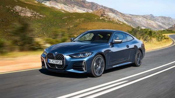 Besides the large grille, the new 4 Series Coupe also gets a sloping roofline, 18-inch alloy wheels with the option of a 19-incher, and standard LED headlights across variants.