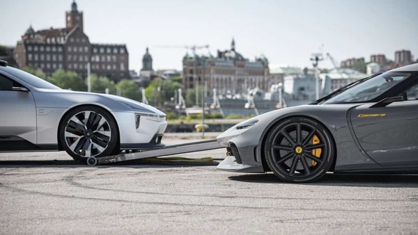 The two carmakers are reportedly meeting to finalise something exciting in the future. (Photo courtesy: Instagram/koenigsegg)