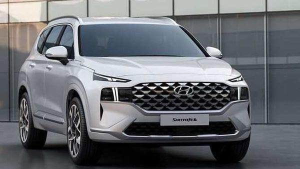 Hyundai Motor Unveils Design Of The New Santa Fe Suv
