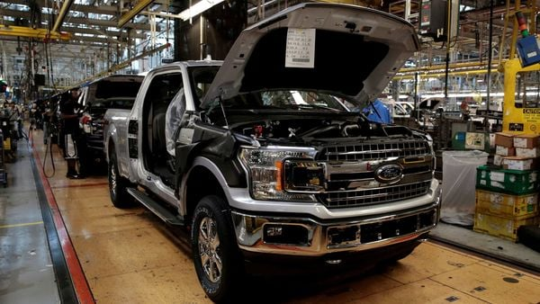 File photo: Ford is one of the largest makers of pickup trucks in the United States. (REUTERS)