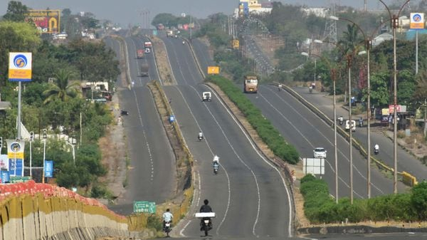 Union Minister for Road Transport and Highways Nitin Gadkari has sanctioned the ₹25,000-crore project to build this highway. (PTI)
