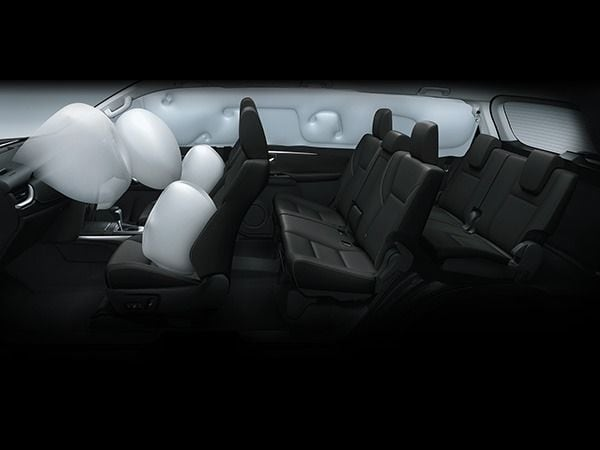 In terms of safety, seven airbags are standard while the top variants also get additional features like active cruise control and lane-keep assist.