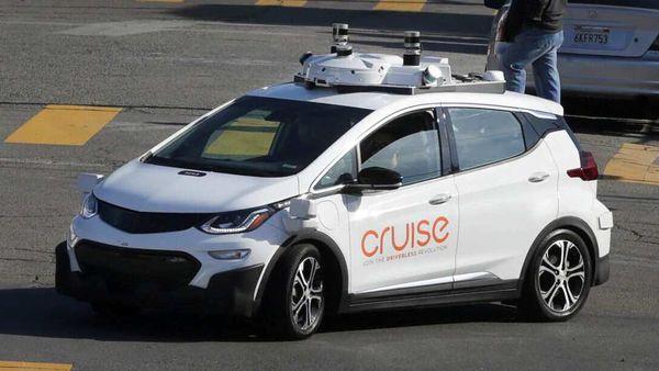 File photo of a self-driving GM Bolt EV in San Francisco, California, US. (REUTERS)