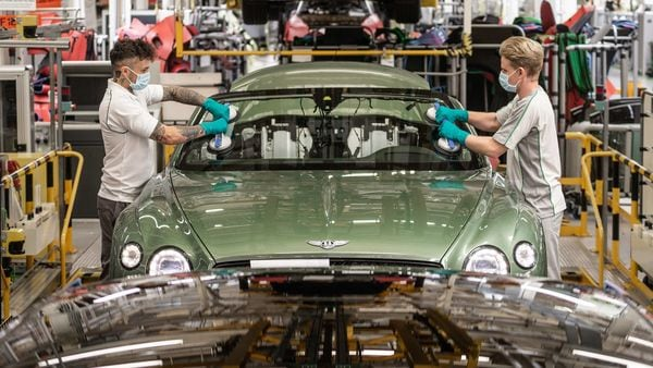 Bentley has said that the ongoing Covid-19 crisis has hastened its decision to lay off employees.