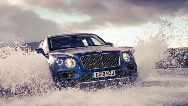 The Bentley Bentayga SUVs are handcrafted by the skilled workforce of the Bentley plant in Crewe.
