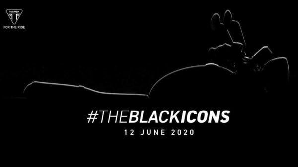 Triumph Motorcycles India took to Twitter to tease the arrival of the black themed retro-classic motorcycles.
