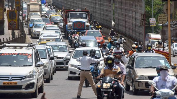 The government has mandated a one cm green sticker, providing registration details, in all BS 6 compliant motor vehicles. (PTI)