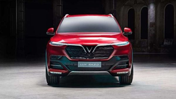 Photo of the VinFast LUX SA2.0 SUV. (Photo courtesy: Twitter/@VinFastofficial)