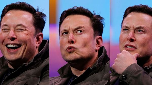 The many moods of Musk: File photo of Elon Musk, CEO of Tesla. (REUTERS)
