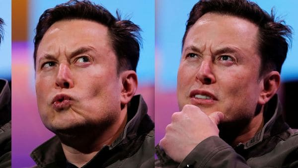 The many moods of Musk: File photo of Elon Musk, CEO of Tesla. (Representational Image) (REUTERS)