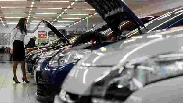File photo of a car dealership used for representational purpose. (REUTERS)