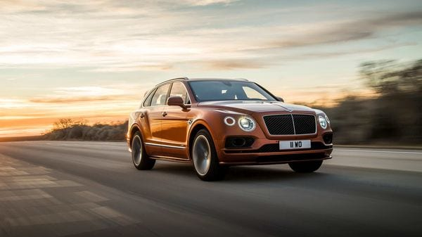 It takes a team of at least 230 skilled workforce and more than 100 hours to produce each Bentayga SUV from scratch.