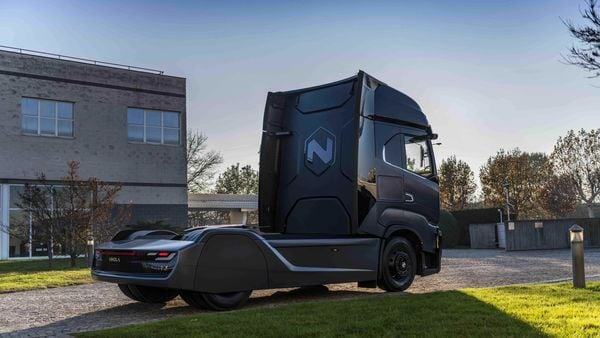 The Phoenix-based company designs and manufactures electric components, drivetrains and vehicles including the Nikola One and Nikola Two electric semi trucks. (Photo courtesy: Twitter/@nikolamotor)