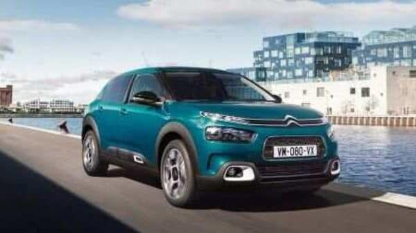 The new e-C4 will be the first Citroen model to have a fully electric version developed on the French group's new e-CMP platform.