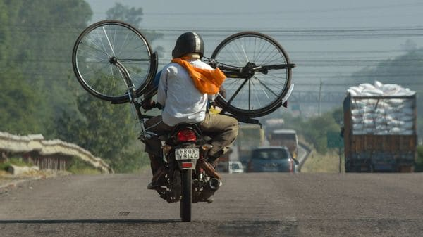 Is it time to pedal to work rather than depend on vehicles? (File photo used for representational purpose) (PTI)