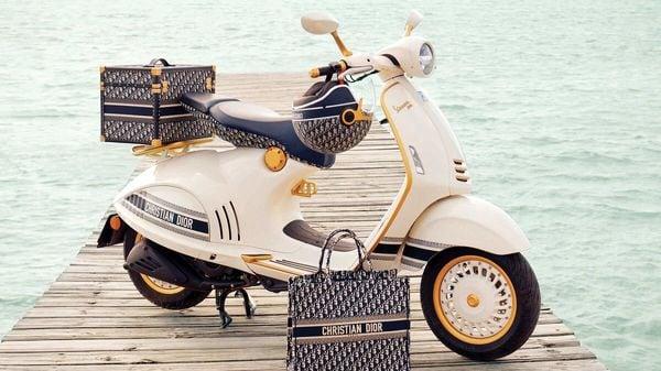 Vespa 946 Christian Dior scooter.