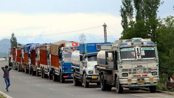 File photo: The truckers' body has sought Prime Minister Narendra Modi's intervention to bring an end to their plight.