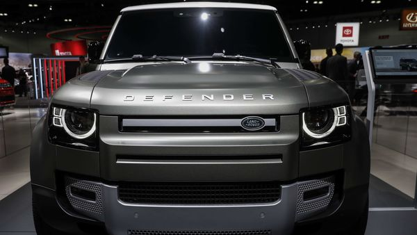 Jaguar Land Rover (JLR) recently showcased the 2020 Defender in the United States. (Bloomberg)