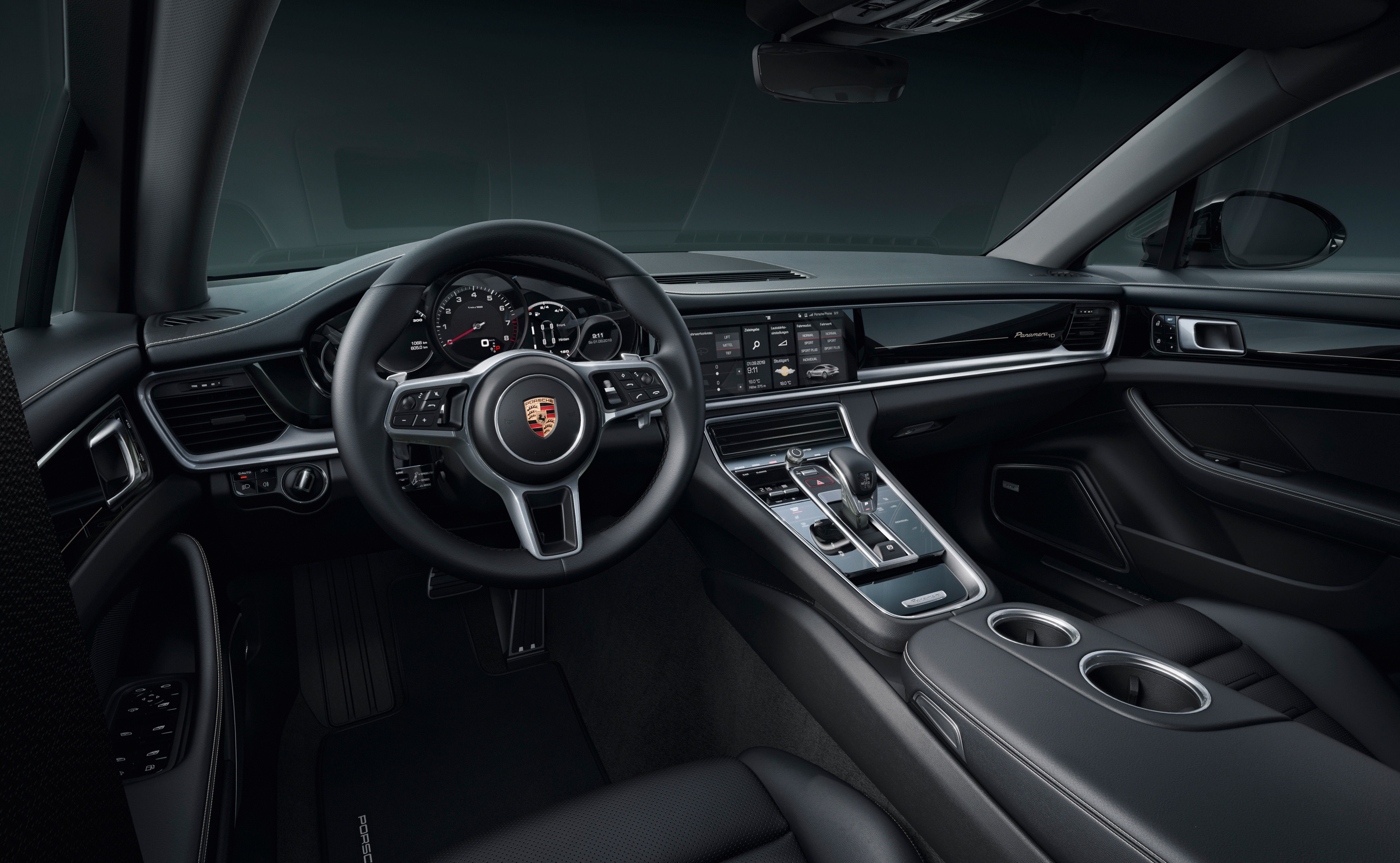 The interior gets a panoramic sunroof, 14-way comfort seats with the Porsche crest on the head restraints, soft-close doors, digital radio and a Bose surround sound system come as standard equipment.
