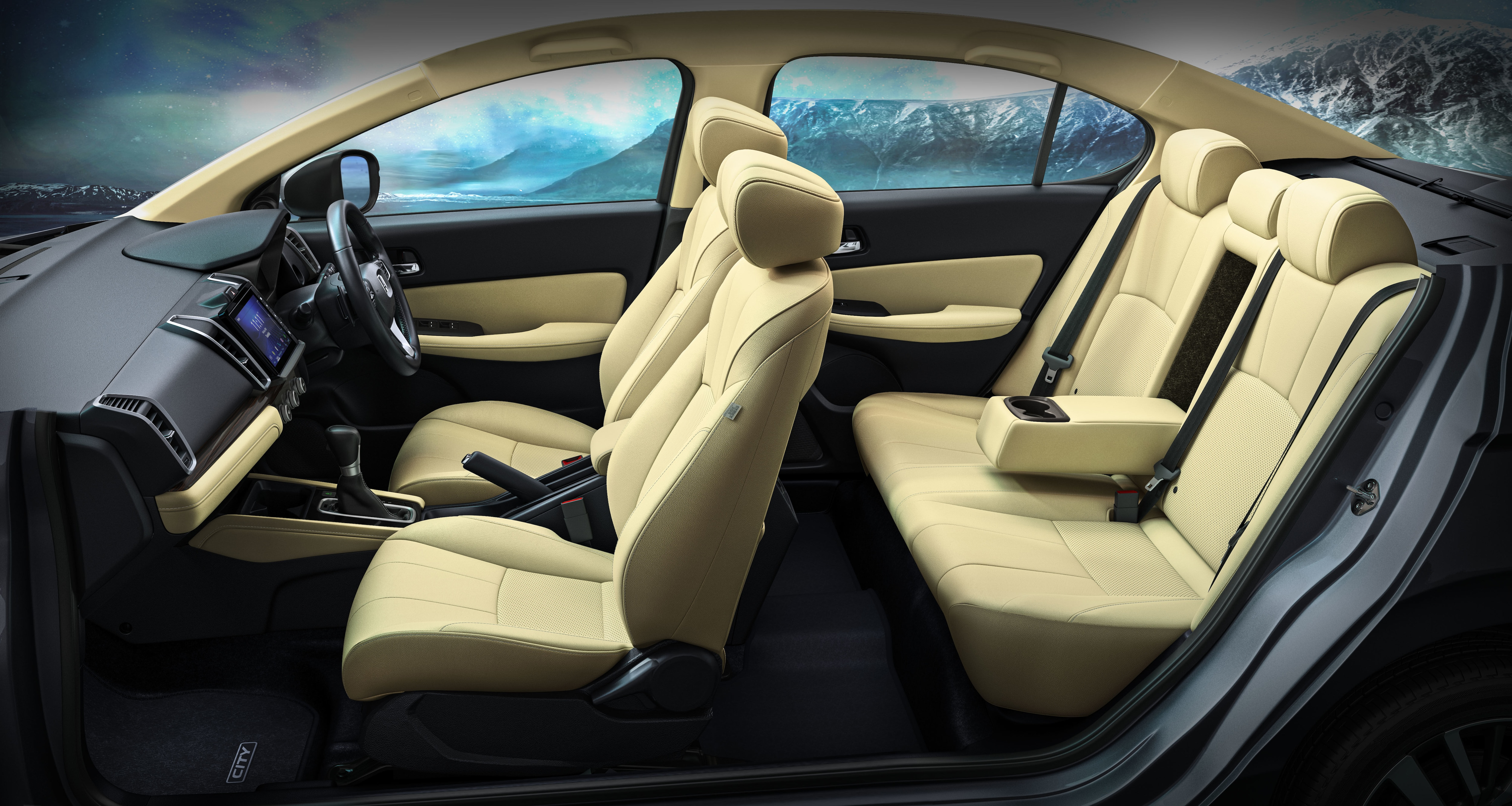 Inside the cabin, the new sedan will be kitted with features like 20.3 cm (8.0 -inch) Advanced Touchscreen Display Audio, Click-Feel AC dial with Red/ Blue Illumination, among others. Its dashboard will boast real stitch soft pad and woody garnish.