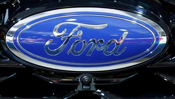The corporate logo of Ford is seen at Brussels Motor Show, Belgium (REUTERS)