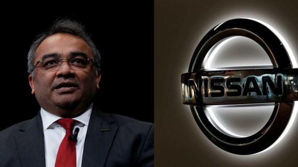 Nissan COO Ashwani Gupta (left)
